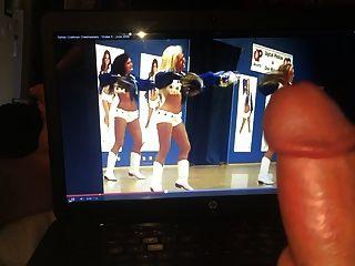 Stroking To The Dallas Cowboys Cheerleaders