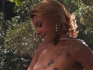 Brazillian Hottie Enjoy A Dick In The Bay
