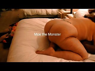 Amazing Goddess And Moe The Monster