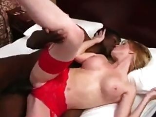 Blonde Gets Filled With Bbc Cum