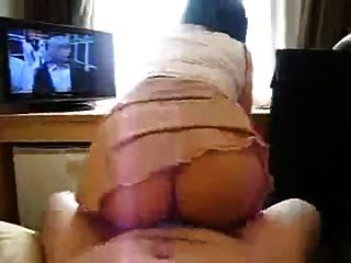 Asian Wife Riding Quickie