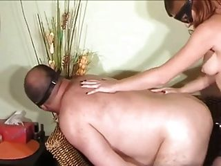 Hard Strapon Fuck By Masked Girl