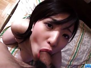 Japan Schoolgirl, Ichigo, Deals Huge Dick In Pov