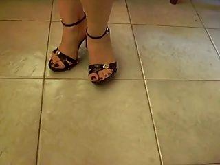 Feet Foot Sexy Red Nail Polish - Kirmizi Ojeler