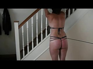 Whipping With The Flogger And Crop