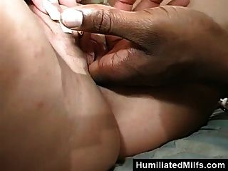 Blonde Milf Gets Wrecked By Black Guy