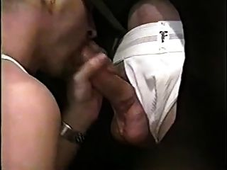 Blowing Up Two Cocks At Gloryhole