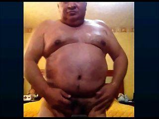 Mexican Grandpa Wanking