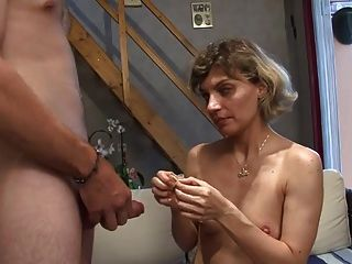 Small Titted Amateur French Milf Gets Fucked