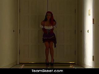 Exxxtrasmall Halloween Special Petite Pirate Hottie Vanessa