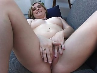 Blonde Amateur Never Fucked On Camera Before