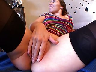 Teen Incredible Orgasm! What Little Slut! French Amateur