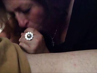 Horny Granny Sucking A Mean Dick