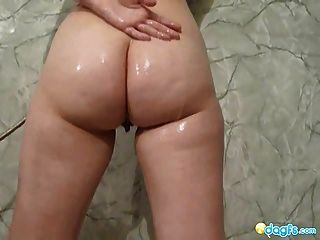 Busty Gf Pantera Hot Shower And Sex