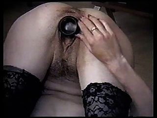 Anal Bottle Play