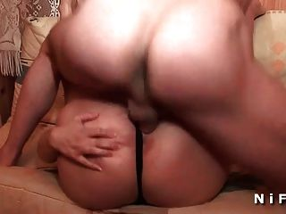 Chubby French Blonde Deep Analized And Double Penetrated