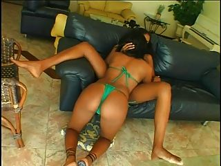 Cute Ebony Milena Gets Fucked Hard By A Sexy Ebony