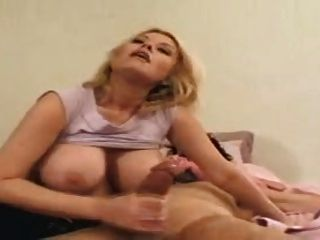 Carolyn Monroe - Big Titty Bitch Give Handjob