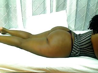 Big Ass Laying Across The Bed