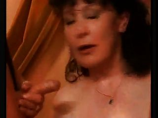 Horny Big Titted Mature With Hairy Pussy Fucks Boys