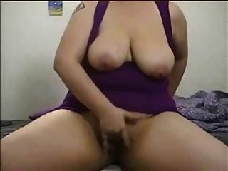 Sexy Chubby Girl Rides A Dildo And Gets Off