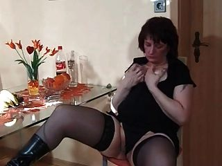 My Sexy Piecings Milf In Stockings With Pierced Nips N Pussy