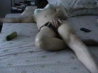 Julie Rubs Her Clit