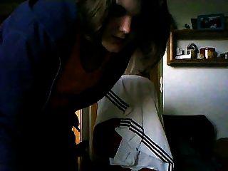 Webcam Schlampe ... Haarige Fotze Teil 1-3