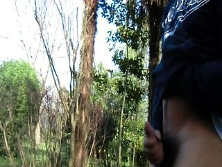 Masturbation And Cum In A Park 2