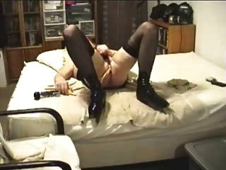 Amateur Shemale Masturbating Her Dick And Cumming