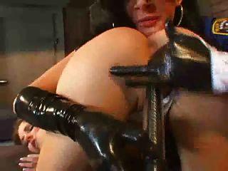 Slut Cop In Leather