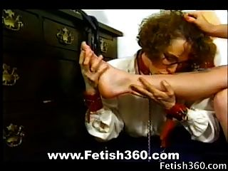 Humiliating Feet Licking