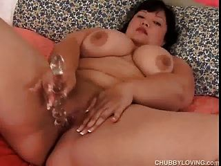 Big Tits Asian Bbw Amateur With Beautiful Boobs Plays With