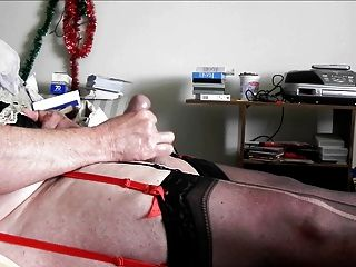 Sissy Ray Shooting A Load Of Sperm