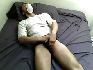 Sniffing Cup And Jacking Off In Jockstrap