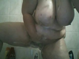 Big Tit Bbw Shower Fun