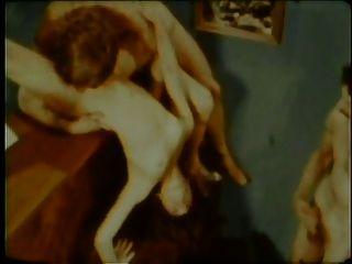 Vintage: Acrobatic Threesome