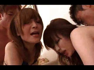 Japanese Pornstar Orgy