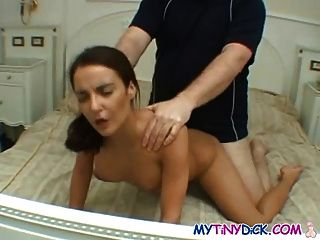 Skinny Chick Gets Banged By A Small Cock