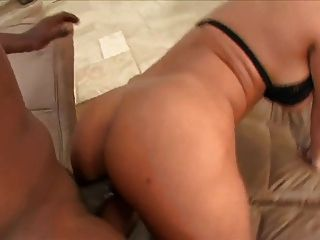 Big Butt Blonde And A Black Dick