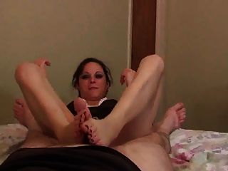 Cum On Stellas Feet