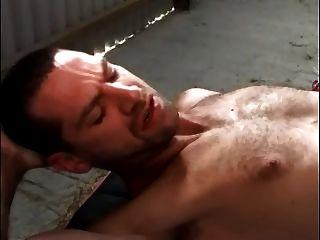 British Blonde Slut In A Ffm Thressome At The Stables
