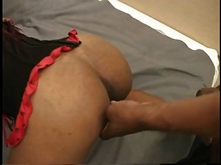 Thick Black Girl Get Double Penetrated In Ass And Pussy After Blowjobs