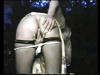 Exhibitionist Wife Outdoors Fingering