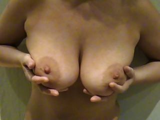 Hot Milf Plays With Her Saggy Tits - For Saggy Udders Lover