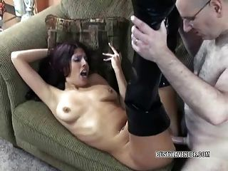 Busty Swinger Lavender In Boots And Getting Fucked