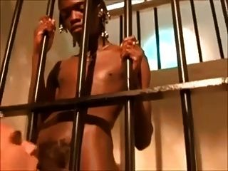 Black Monster Fuck In Jail