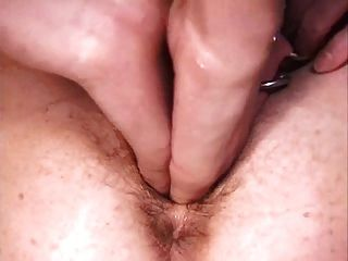 Pierced Granny With Lots Of Rings In Her Pussy Fisted Hard