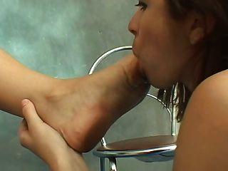 Dirty Feet Lesbian