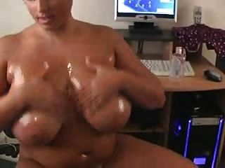 Kerry Marie Strips, Oils Boobs